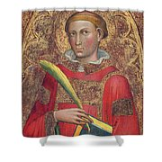 Deacon Saint, With Saint Anthony Abbot Shower Curtain