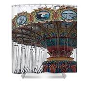 Dead Carnival Shower Curtain
