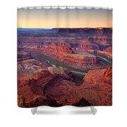 Dead Horse Dawn Shower Curtain