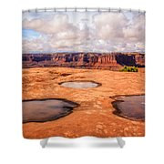 Dead Horse Pools Shower Curtain