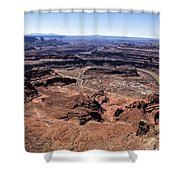 Dead Horse State Park Shower Curtain