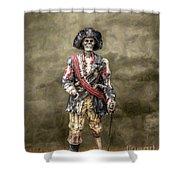 Dead Men Tell No Tales Shower Curtain by Randy Steele