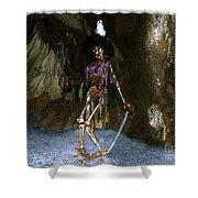 Dead Men Tell No Tells Shower Curtain by David Lee Thompson