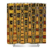 Dead Tree Abstract Shower Curtain