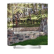 Deadwood, South Dakota Shower Curtain