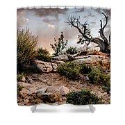 Deadwood Sunset Shower Curtain