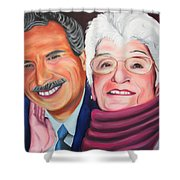 Dean And Frances Shower Curtain
