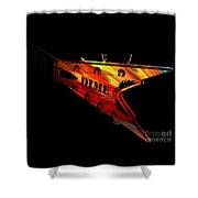 Dean Razorback - 7 String Guitar Shower Curtain
