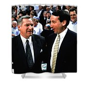 Dean Smith And Mike Krzyzewski Shower Curtain