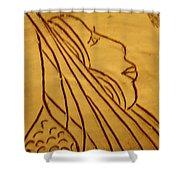 Dear - Tile Shower Curtain