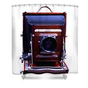 Deardorff 8x10 View Camera Shower Curtain by Joseph Mosley
