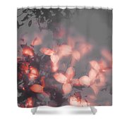 Death Blooms Shower Curtain