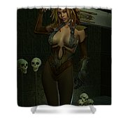 Death Dealer Shower Curtain