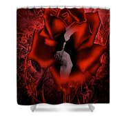 Death Do Us Part Shower Curtain