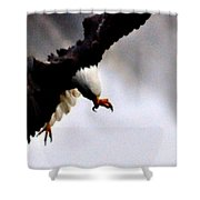 Death From Above Shower Curtain