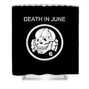 Death In June Shower Curtain