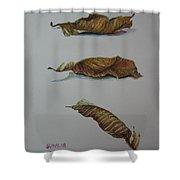 Death Leaf Walking Shower Curtain