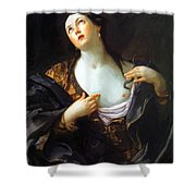 Death Of Cleopatra 1598 Shower Curtain