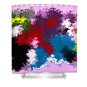Death Of Discrimination Shower Curtain