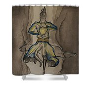 Death Of The Demon's Law Shower Curtain