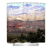 Death Valley 1 Shower Curtain