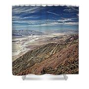 Death Valley 10 Shower Curtain