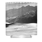Death Valley 1977 Shower Curtain
