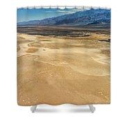 Death Valley 6 Shower Curtain