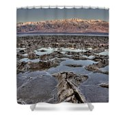 Death Valley 7 Shower Curtain