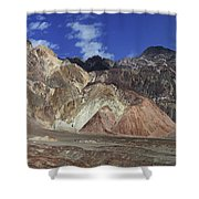 Death Valley 8 Shower Curtain