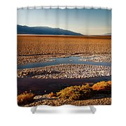 Death Valley California Shower Curtain