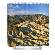 Death Valley National Park, California Shower Curtain