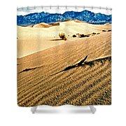 Death Valley National Park Shower Curtain