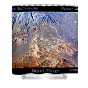 Death Valley Planet Earth Shower Curtain