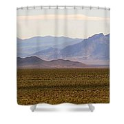 Death Valley Range Shower Curtain
