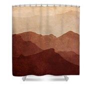 Death Valley Shower Curtain