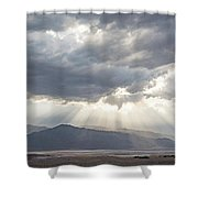 Death Valley Sky Shower Curtain