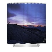 Death Valley Sunrise Shower Curtain