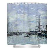 Deauville The Dock Shower Curtain