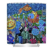 Decatur Lantern Parade Shower Curtain