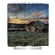 Decaying Cottage Shower Curtain
