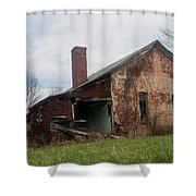 Decaying Knowledge Shower Curtain
