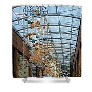 Deck The Halls 3 Shower Curtain