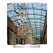 Deck The Halls 3 Shower Curtain