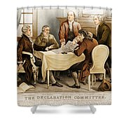 Declaration Committee 1776 Shower Curtain