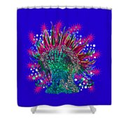 Deco Anemone Shower Curtain