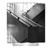 Deco Stairs Shower Curtain