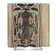 Decorative Design, Carel Adolph Lion Cachet, 1874 - 1945 Shower Curtain
