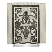 Decorative Design, Carel Adolph Lion Cachet, 1874 - 1945 Jd Shower Curtain