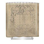 Decorative Design, Carel Adolph Lion Cachet, 1874 - 1945 Sv Shower Curtain